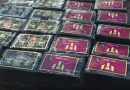 Police seize cocaine with Lionel Messi branding