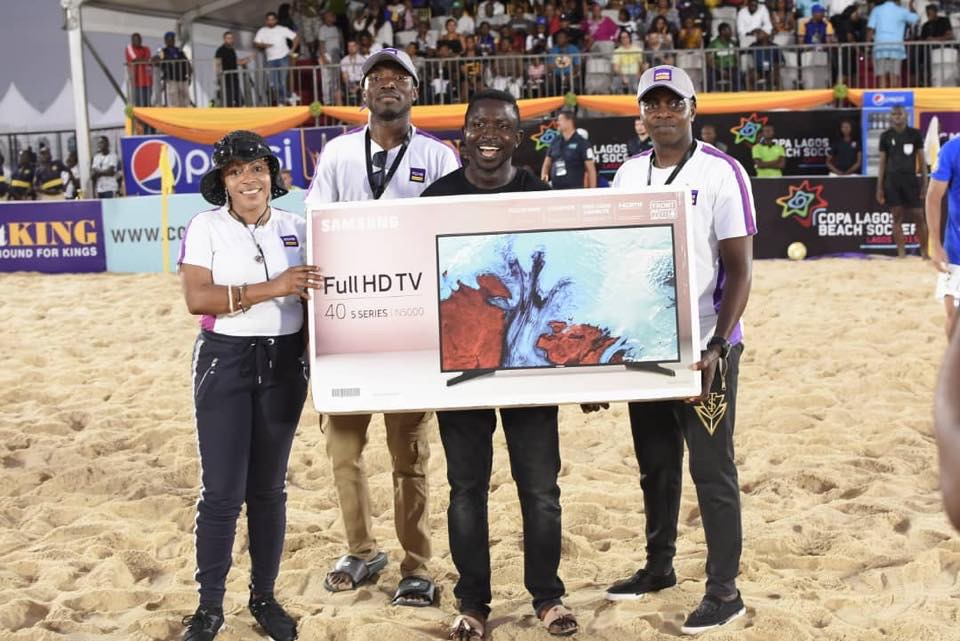 Folake Ani-Mumuney Hits Another Feat, Clinches Lifetime.